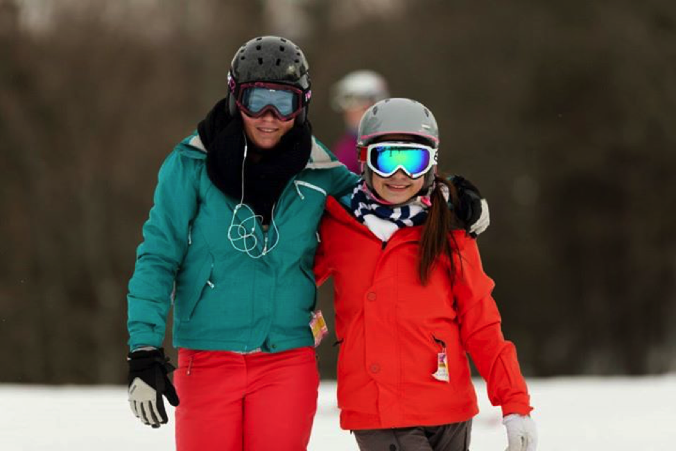 During the winter, Lakefield students enjoy ski trails on the school's 315-acre campus.