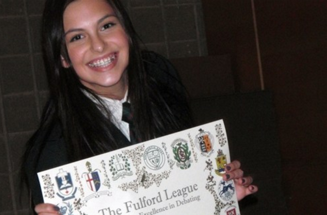 LCS students often win honourable mentions and MVP awards at national debate tournaments