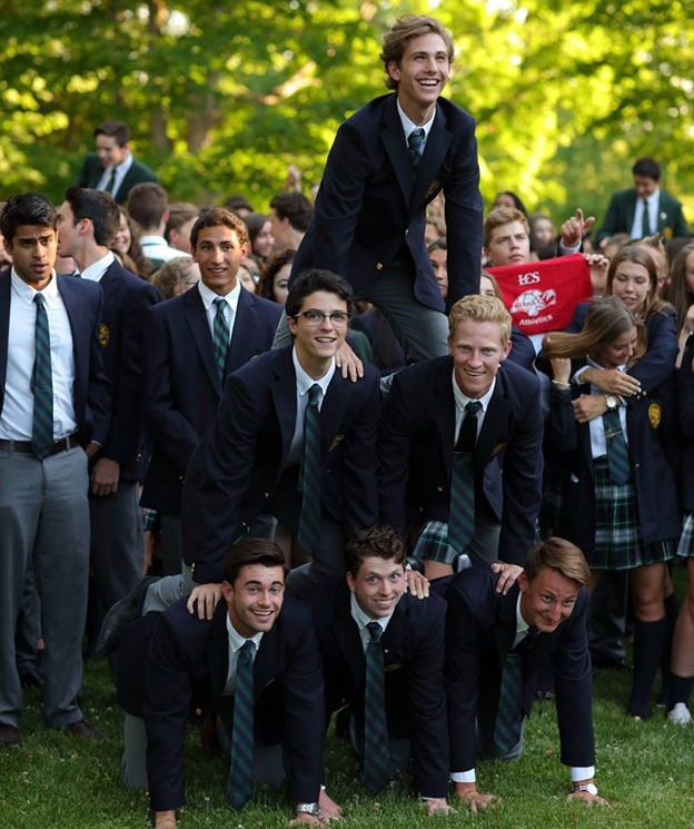 Students at LCS welcome each other and form long-lasting friendships