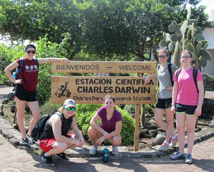 Lakefield College School students in Costa Rica in March 2016