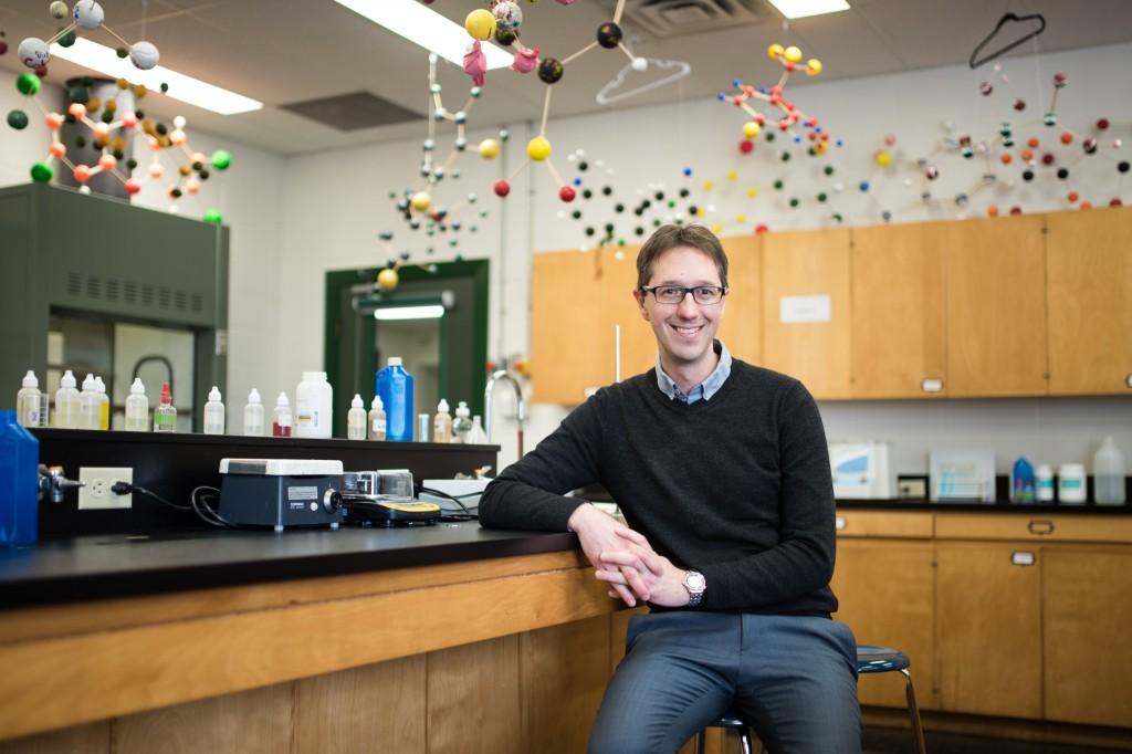 AP Chemistry Teacher Todd Melville