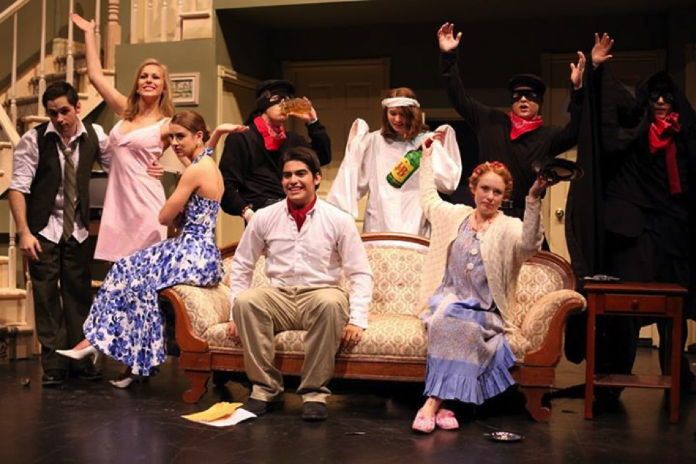 Students perform the play Noises Off for during this year's spring term at Lakefield College School.