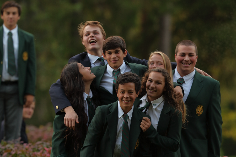 Girls and boys live and learn together at Lakefield College School