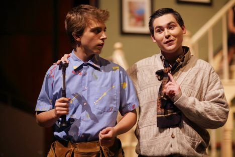 Students perform for their peers in one of Lakefield College School's theatrical productions
