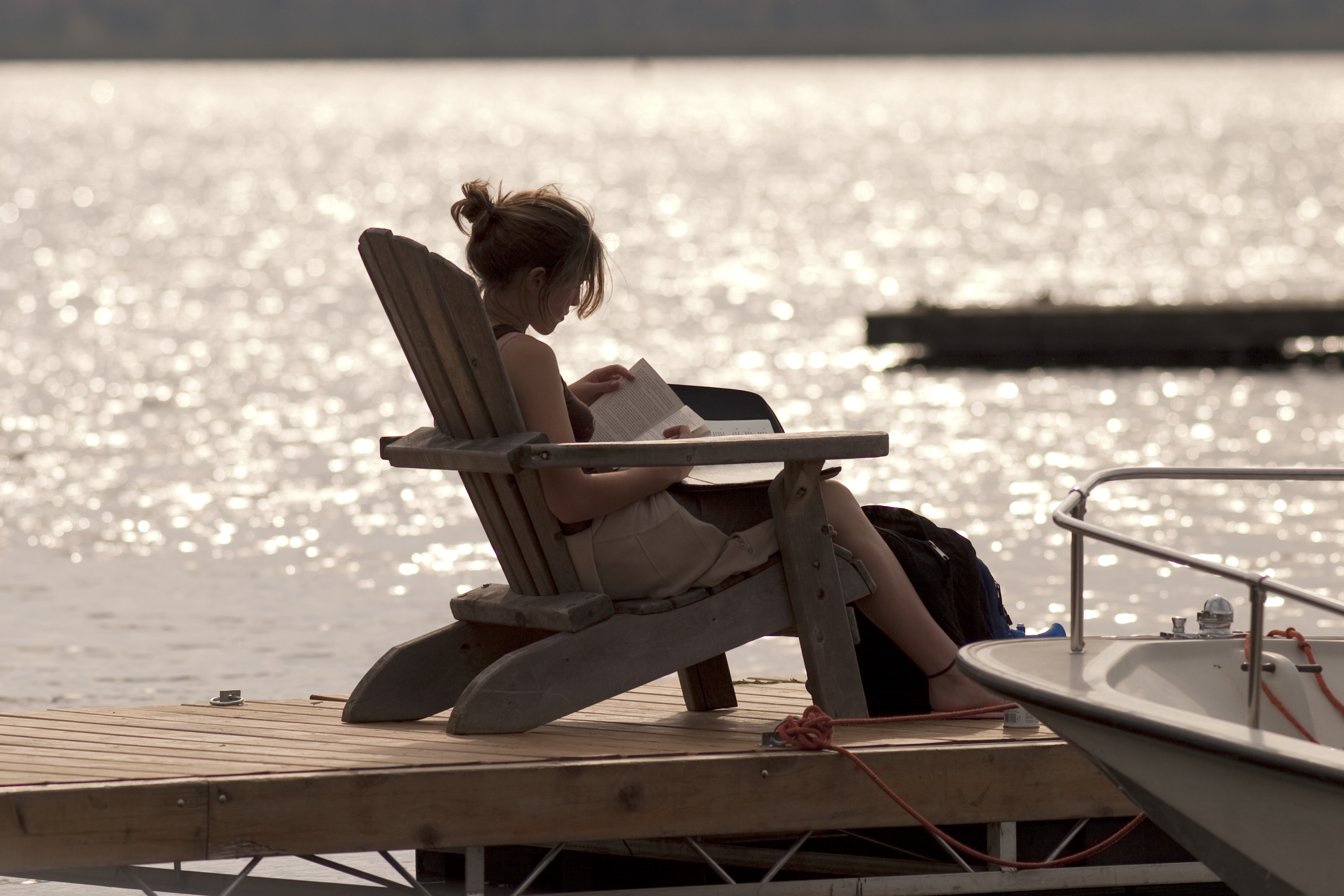 Summer break is a great time to read for pleasure or self-interest