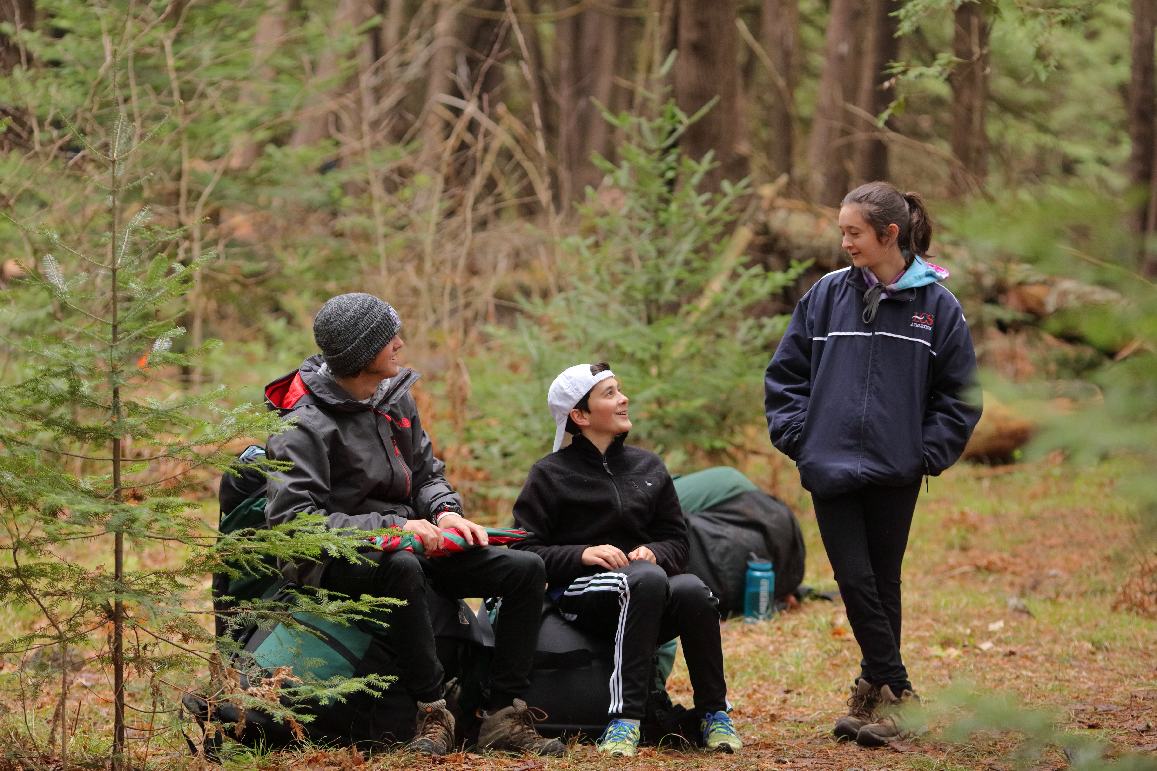 There's always a way to get outdoors at Lakefield College School