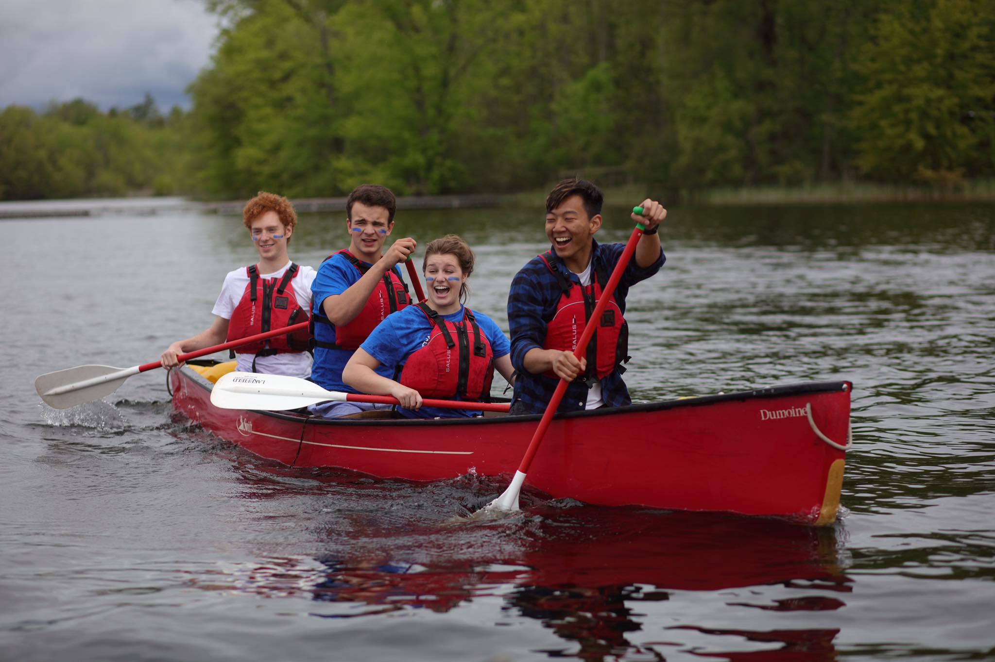 Outdoor activities help students appreciate nature