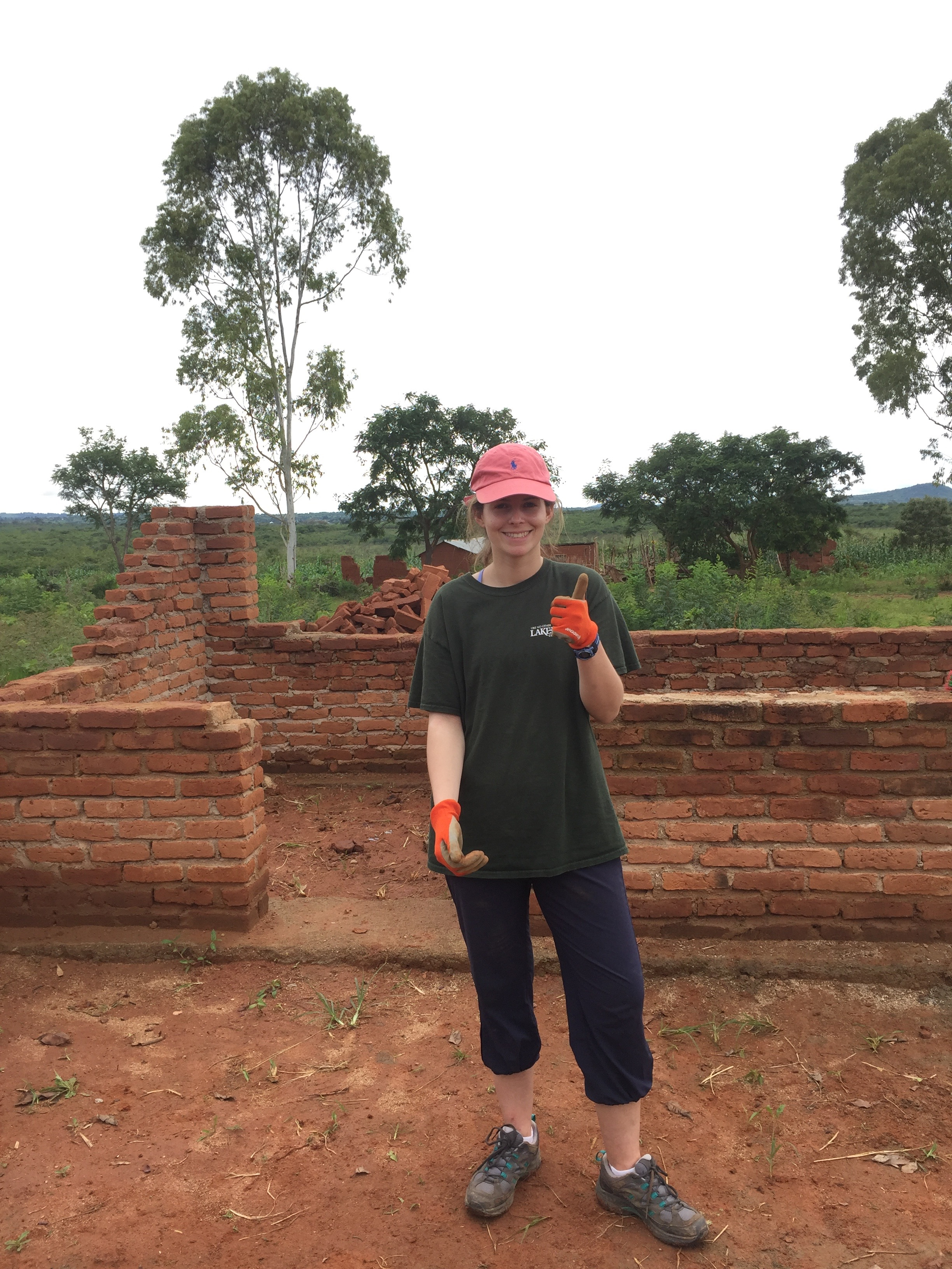 Lakefield College School students helped build a local school teacher a home in Tanzania.