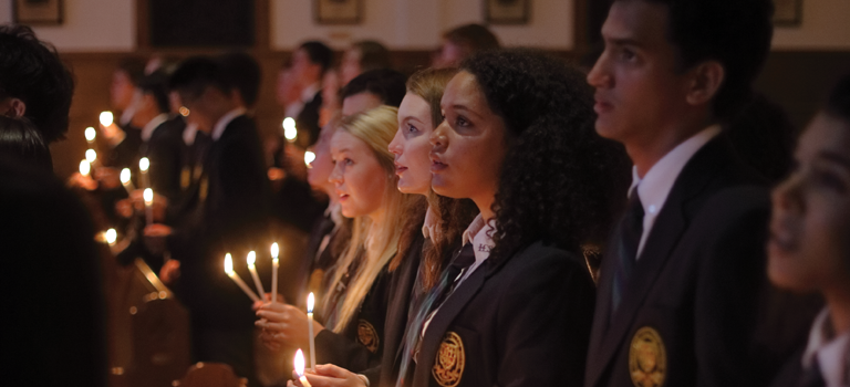 Opening Grad Chapel is one of the annual traditions cherished by students and staff each year.