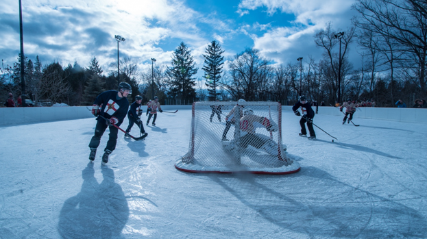 Our ice rink is a perfect place for students to make winter memories