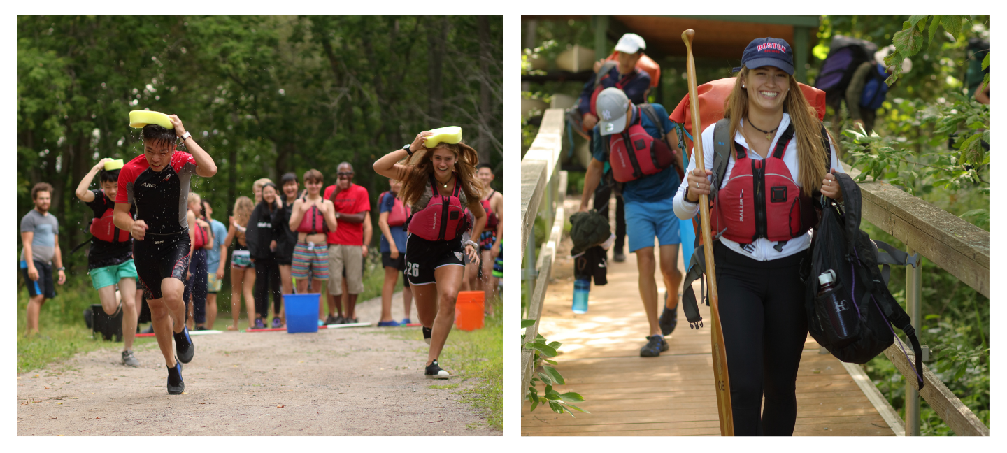 All Lakefield College School's summer camp students can benefit from LCS's emphasis upon sports and outdoor education on our 315 acre campus.